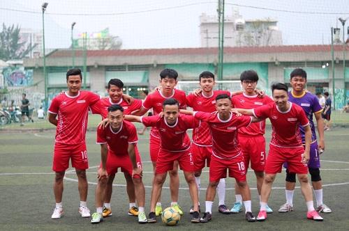 Đội bóng Chi nhánh Công ty Novaco HCM tham gia vòng chung kết giải bóng đá mini các Cty trong nghành dược